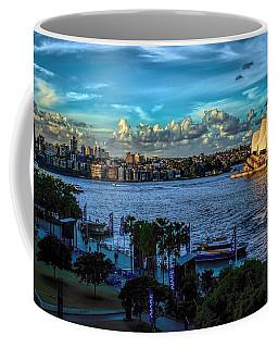Sydney Harbor And Opera House Coffee Mug