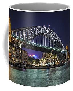 Sydney Harbor Bridge At Night Coffee Mug