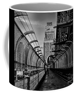 Sydney Harbor Bridge Bw Coffee Mug