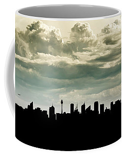 Coffee Mug featuring the photograph Sydney Skyline by Chris Cousins