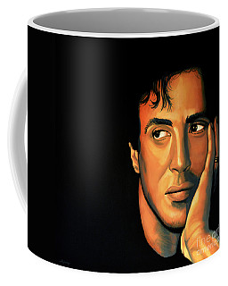 Sylvester Stallone Coffee Mug