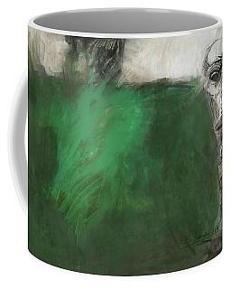 Symbol Mask Painting - 03 Coffee Mug by Behzad Sohrabi