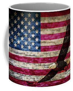 Symbol Of Freedom Coffee Mug by Ray Congrove