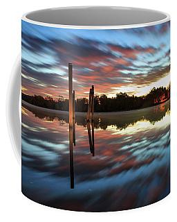 Symetry On The River Coffee Mug