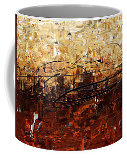 Coffee Mug featuring the painting Symphony by Carmen Guedez