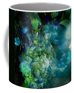Symphony In Blue Coffee Mug by Colleen Taylor