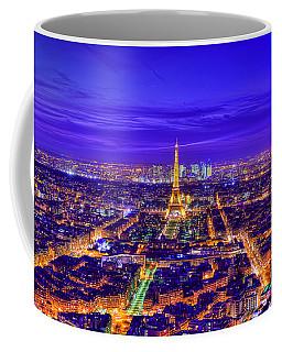 Symphony In Blue Coffee Mug by Midori Chan