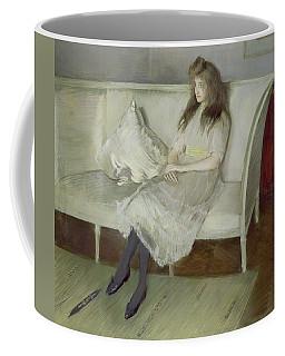Symphony In White Coffee Mug