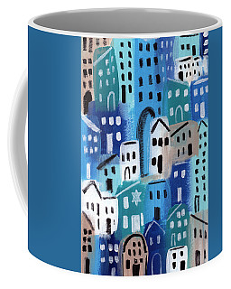 Synagogue- City Stories Coffee Mug