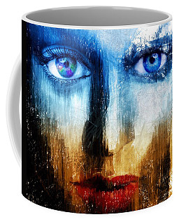 Coffee Mug featuring the painting Synaptic Awakening by Mark Taylor