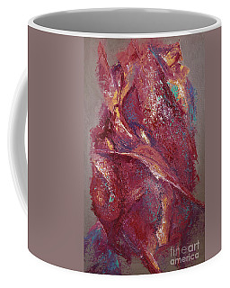 Coffee Mug featuring the painting Syncopation 4 by Mini Arora