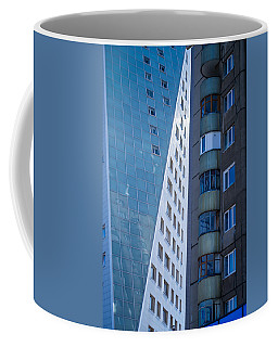 Synergy Between Old And New Apartments Coffee Mug by John Williams