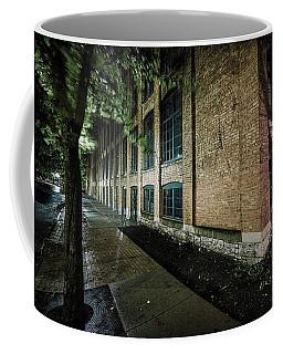 Coffee Mug featuring the photograph Syracuse Sidewalks by Everet Regal