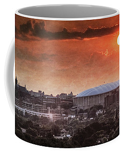 Syracuse Sunrise Over The Dome Coffee Mug by Everet Regal