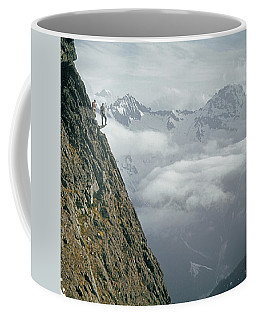 T-404101 Climbers On Sleese Mountain Coffee Mug