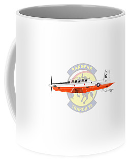 T-6b Texan II Vt28 Coffee Mug by Arthur Eggers