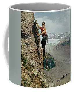 T-902901 Fred Beckey Climbing Coffee Mug