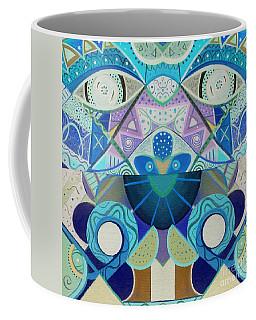 T J O D Tile Variation 3 Inverted Coffee Mug