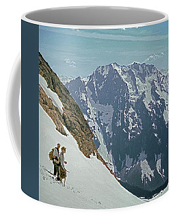 T04402 Beckey And Hieb After Forbidden Peak 1st Ascent Coffee Mug