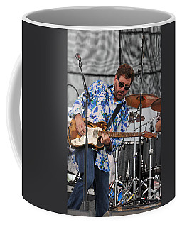 Tab Benoit Plays His 1972 Fender Telecaster Thinline Guitar Coffee Mug