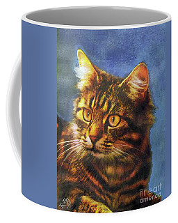 Tabby Blue Coffee Mug