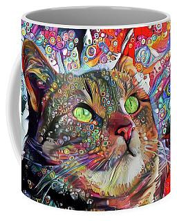 Tabby Cat Color Blast Coffee Mug