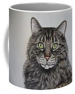 Tabby-lil' Bit Coffee Mug by Megan Cohen