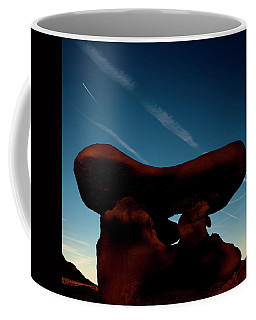 A Table Rock At Goblin Valley State Park Coffee Mug