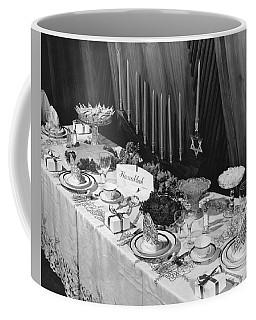 Table Set For Hanukkah Coffee Mug