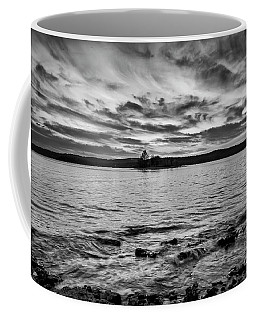 Coffee Mug featuring the photograph Tablerock At Sunset by Dennis Hedberg