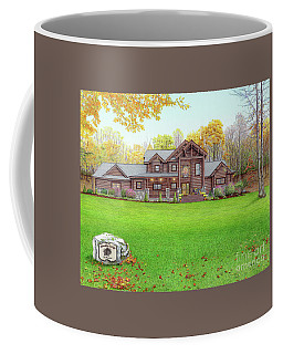 Taborton Lodge Coffee Mug by Albert Puskaric