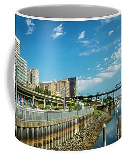 Tacoma And 11th Street Bridge Coffee Mug