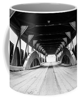 Taftsville Covered Bridge Coffee Mug by Greg Fortier