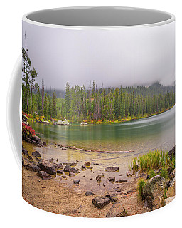 Coffee Mug featuring the photograph Taggert Lake Grand Teton by Scott McGuire