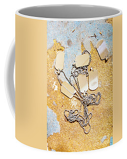 Coffee Mug featuring the photograph Tags Of War by Jorgo Photography - Wall Art Gallery