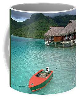 Tahitian Boat Coffee Mug