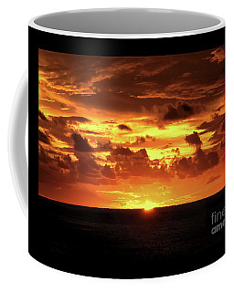 Coffee Mug featuring the photograph Tahitian Sunset by Sue Melvin