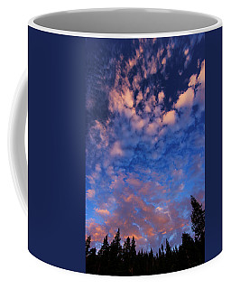 Coffee Mug featuring the photograph Tahoe Twilight Skyscape by Sean Sarsfield