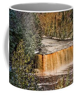Tahquamenon Winter Falls  Coffee Mug