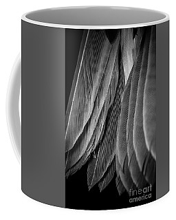 Tail Feathers Abstract Coffee Mug