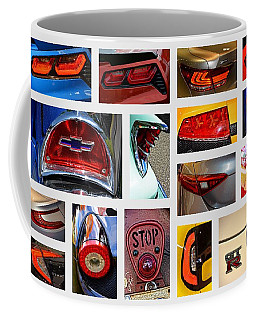 Tail Light Collage Number 1 Coffee Mug