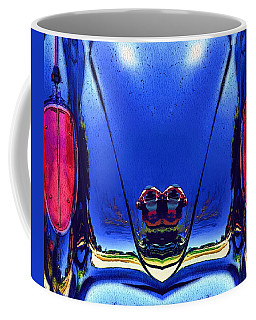 Tail Light Reflections On Venus Coffee Mug