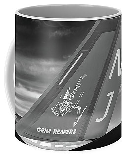 Tail Of The Grim Reaper - 2017 Christopher Buff, Www.aviationbuff.com Coffee Mug
