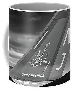 Tail Of The Grim Reaper - 2017 Christopher Buff, Www.aviationbuff.com Coffee Mug