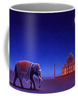 Taj Mahal Elephant Coffee Mug