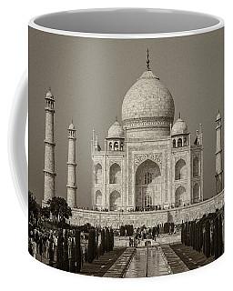 Taj Mahal Coffee Mug by Hitendra SINKAR