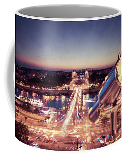 Coffee Mug featuring the photograph Take A Look At Paris by Hannes Cmarits