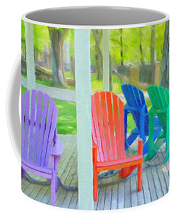Take A Seat But Don't Take A Chair Coffee Mug