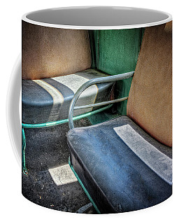 Take A Seat Coffee Mug by Jerry Golab