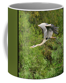 Coffee Mug featuring the photograph Take Off by Shari Jardina